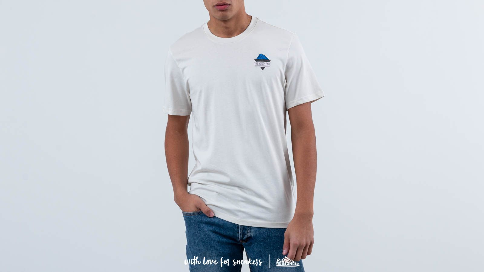 ea6bd2cc1 The North Face Shortsleeve Ridge Tee Vintage White | Footshop
