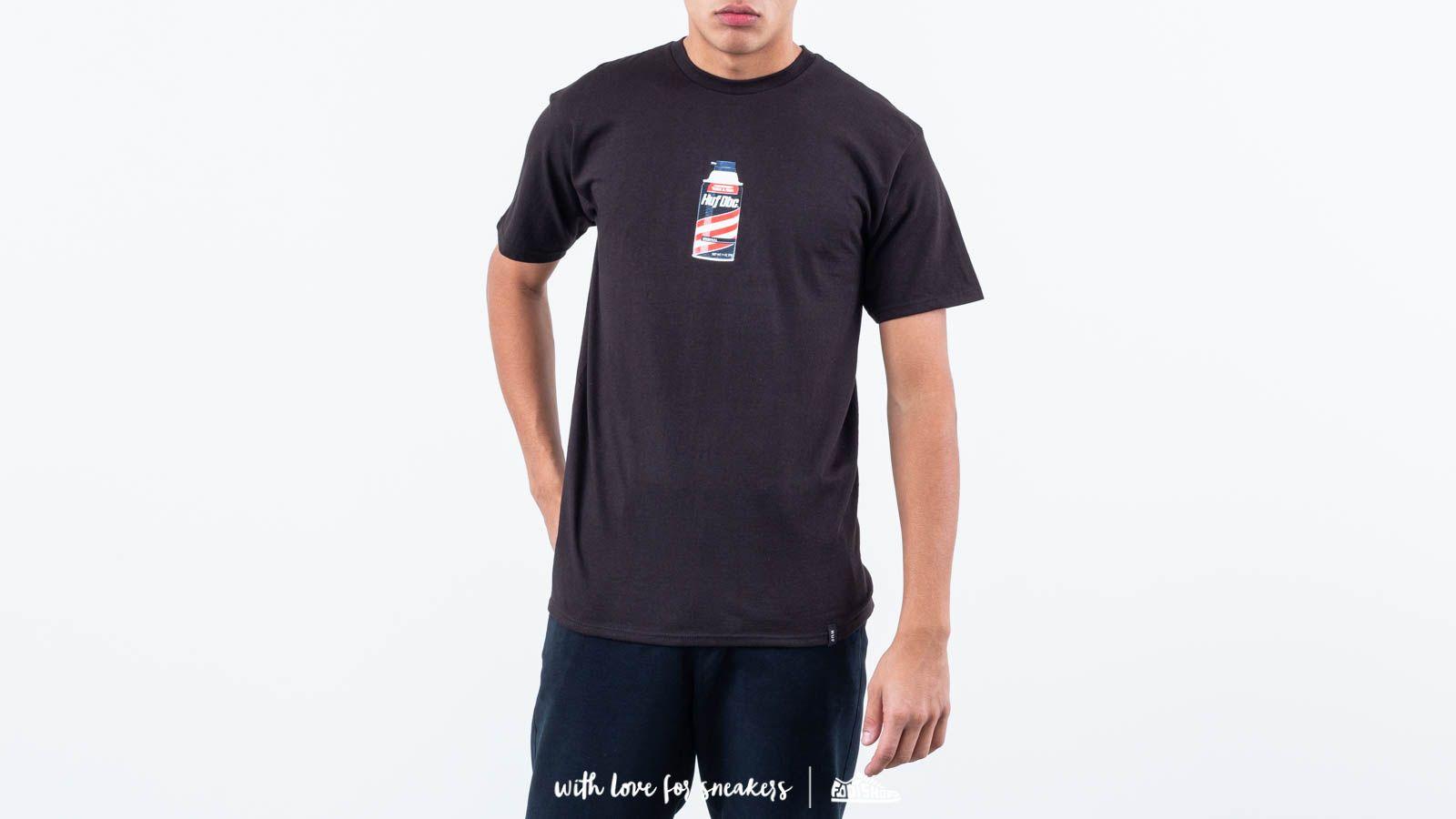 Trička a košile HUF Canned Heat Shortsleeve Tee Black