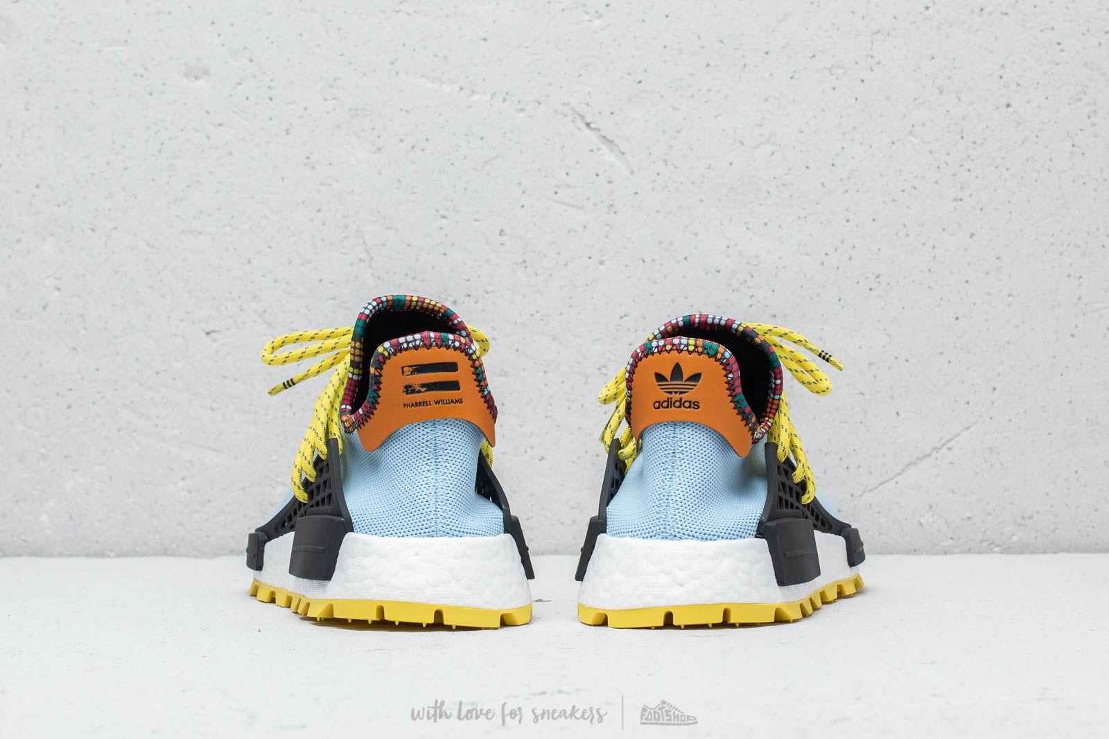 adidas x Pharrell Williams Inspiration Hu NMD Clear Sky
