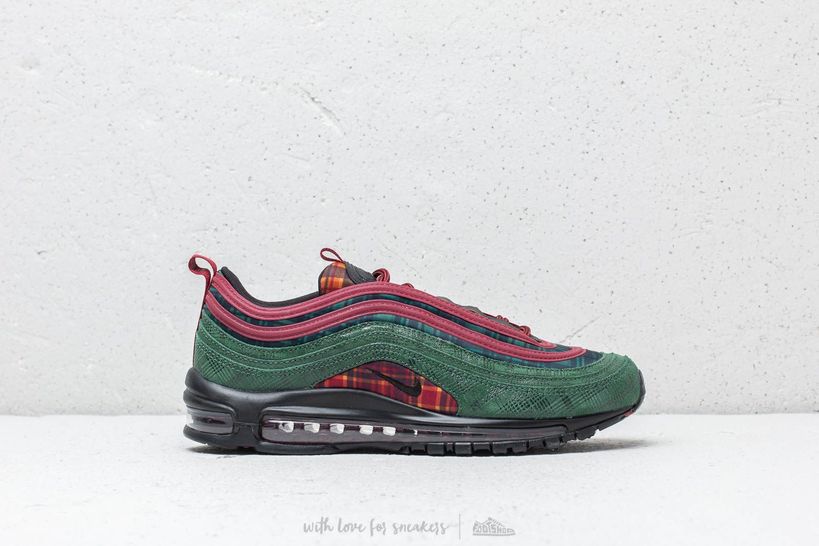 dbe81c202c67f6 Nike Air Max 97 NRG Team Red  Midnight Spruce at a great price £165