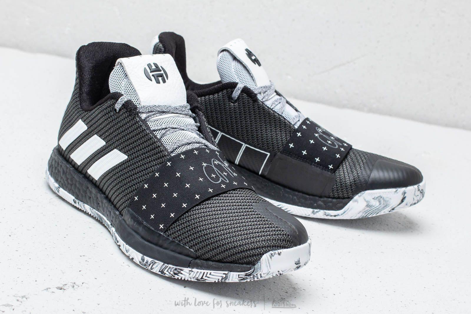 adidas Harden Vol. 3 Core Black Cloud White Grey | Footshop
