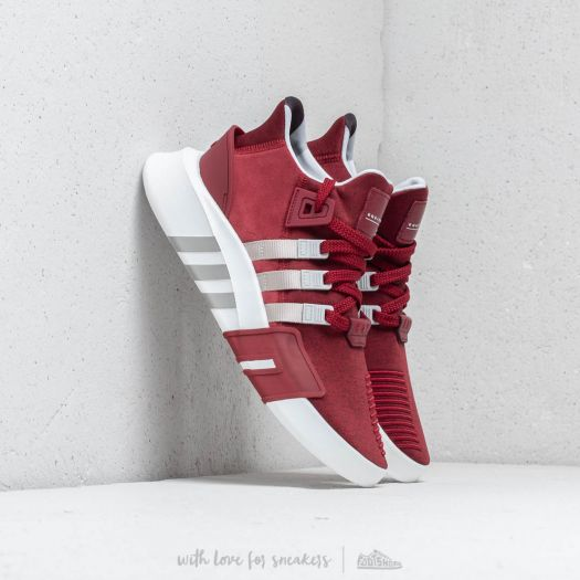 wholesale dealer c36ed 6d776 adidas EQT Bask ADV Noble Maroon/ Grey Two/ Ftw White ...