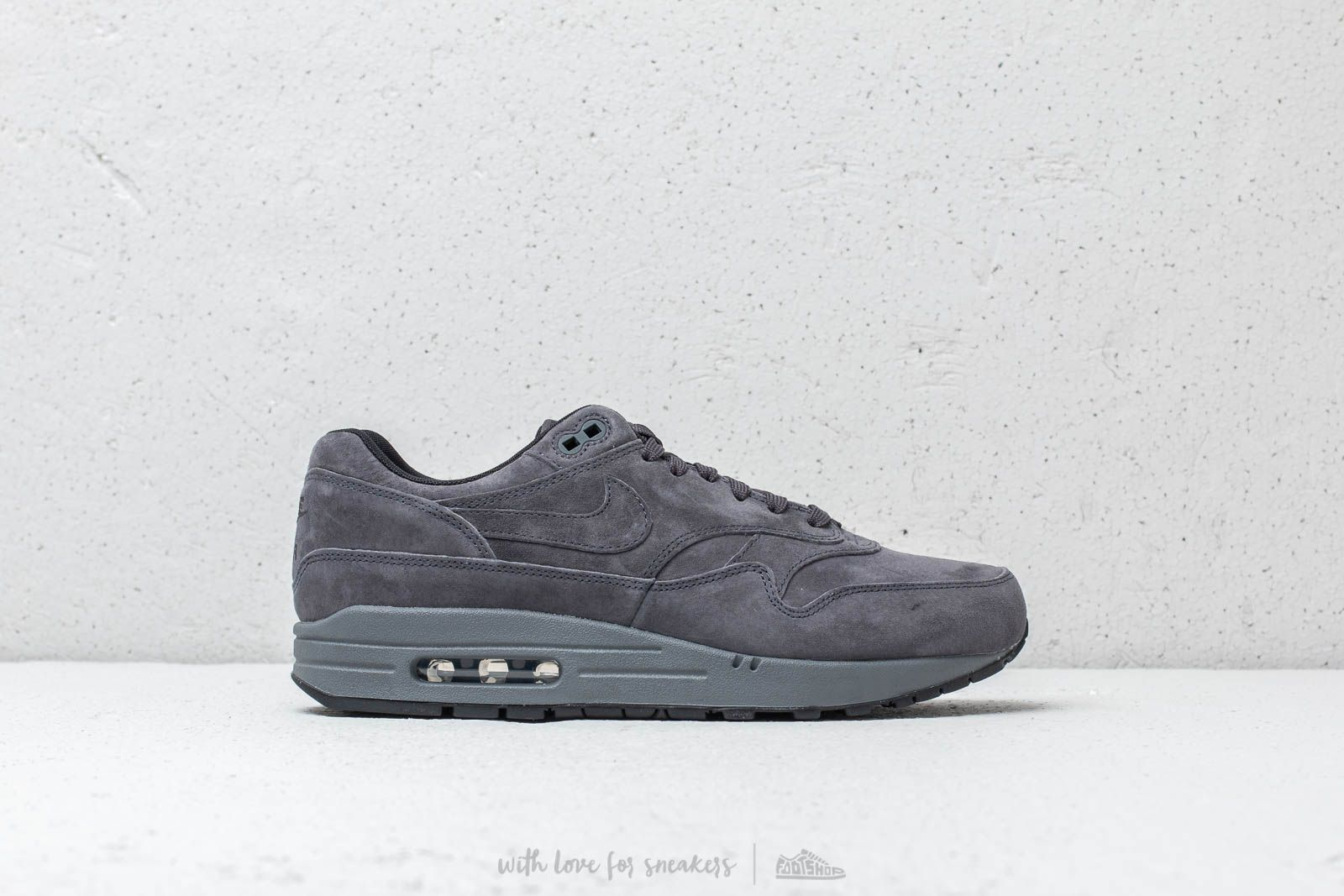Nike Air Max 1 Premium Antracite  Antracite-Black at a great price 139 € 6153b71a7