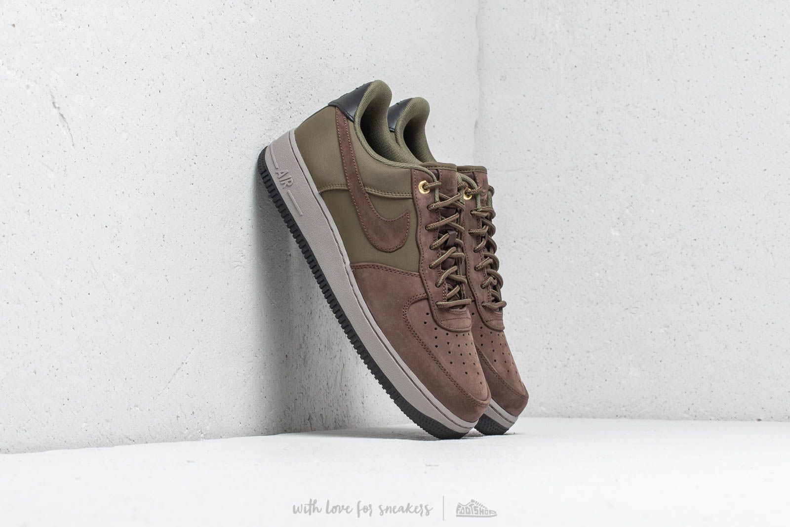 Nike Air Force 1´07 Premier Baroque Brown Army Olive | Footshop