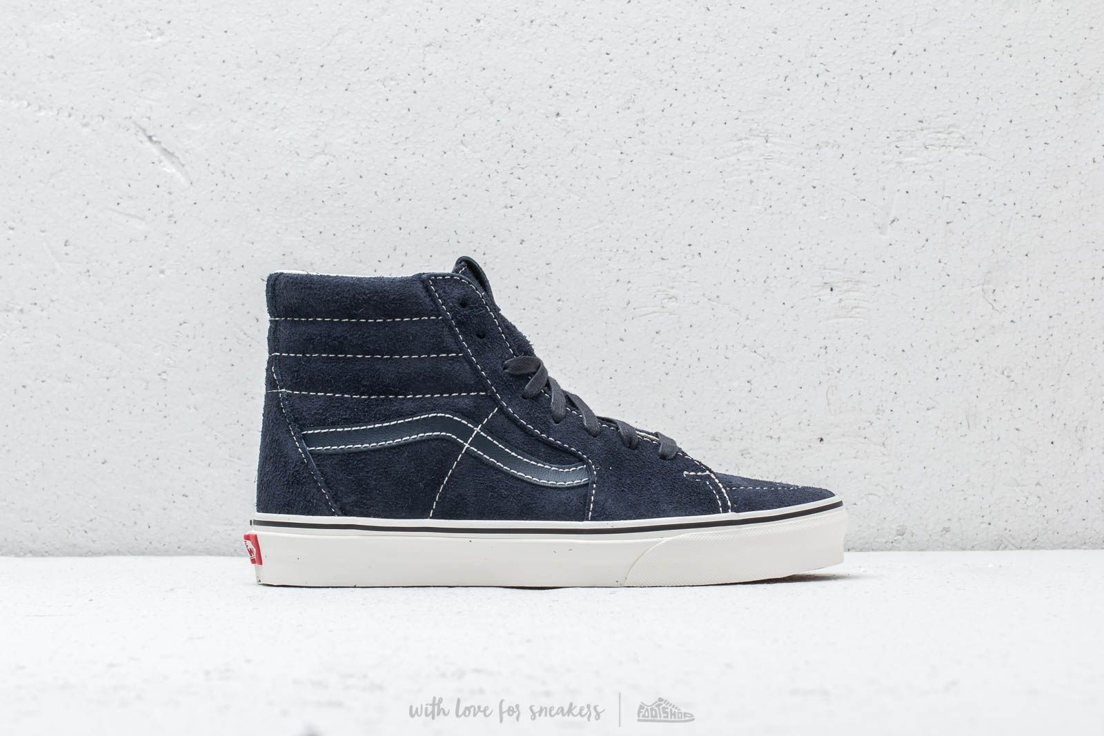 Vans SK8-Hi (Hairy Suede) Sky Captain  Snow White at a great 4a248d587
