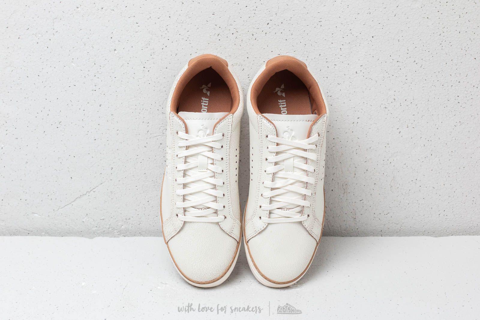 Sneakers LE COQ SPORTIF Courtace Premium 1820349 MarshmallowBrown Sugar