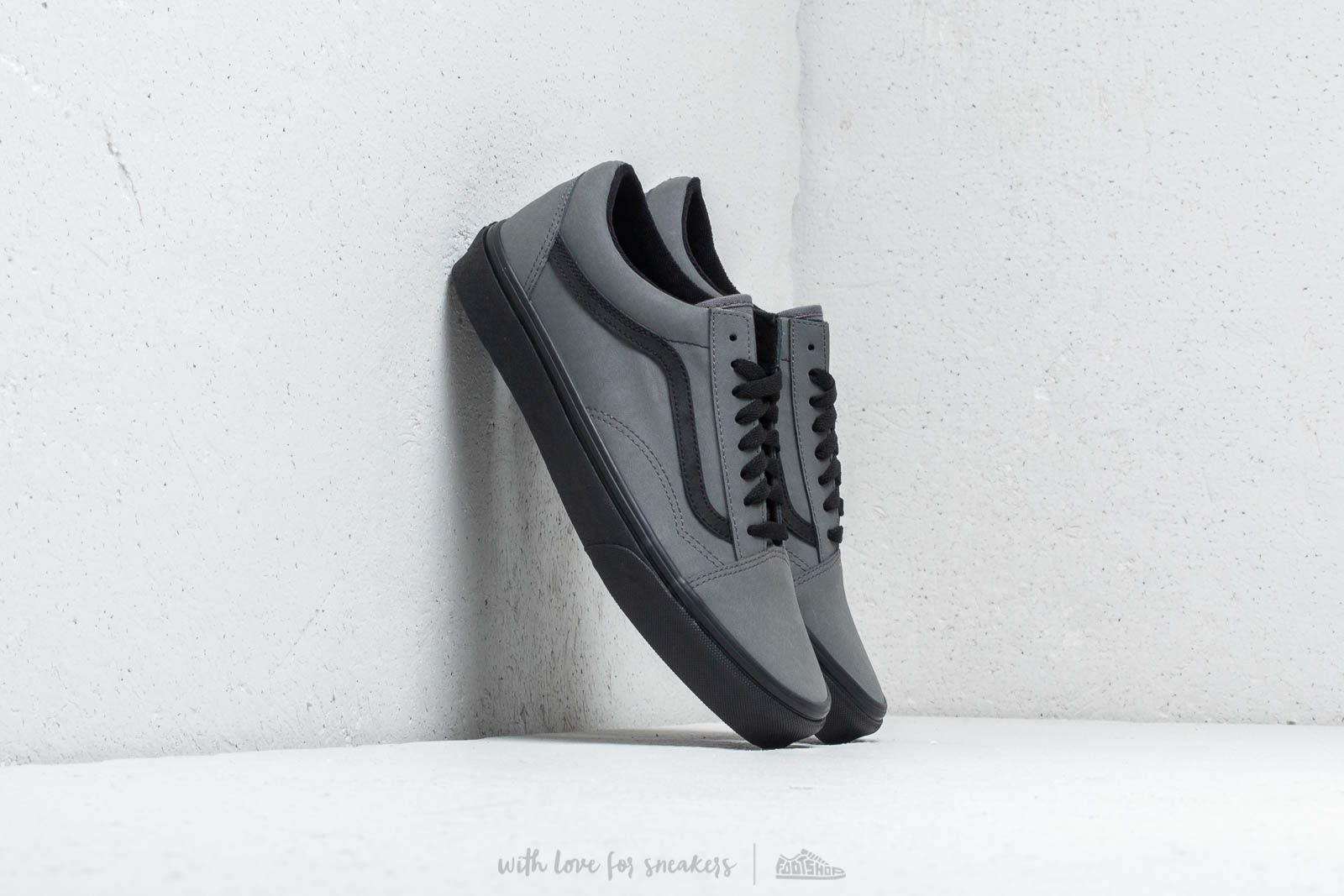 c9446476454 Vans Old Skool (Vansbuck) Pewter  Black