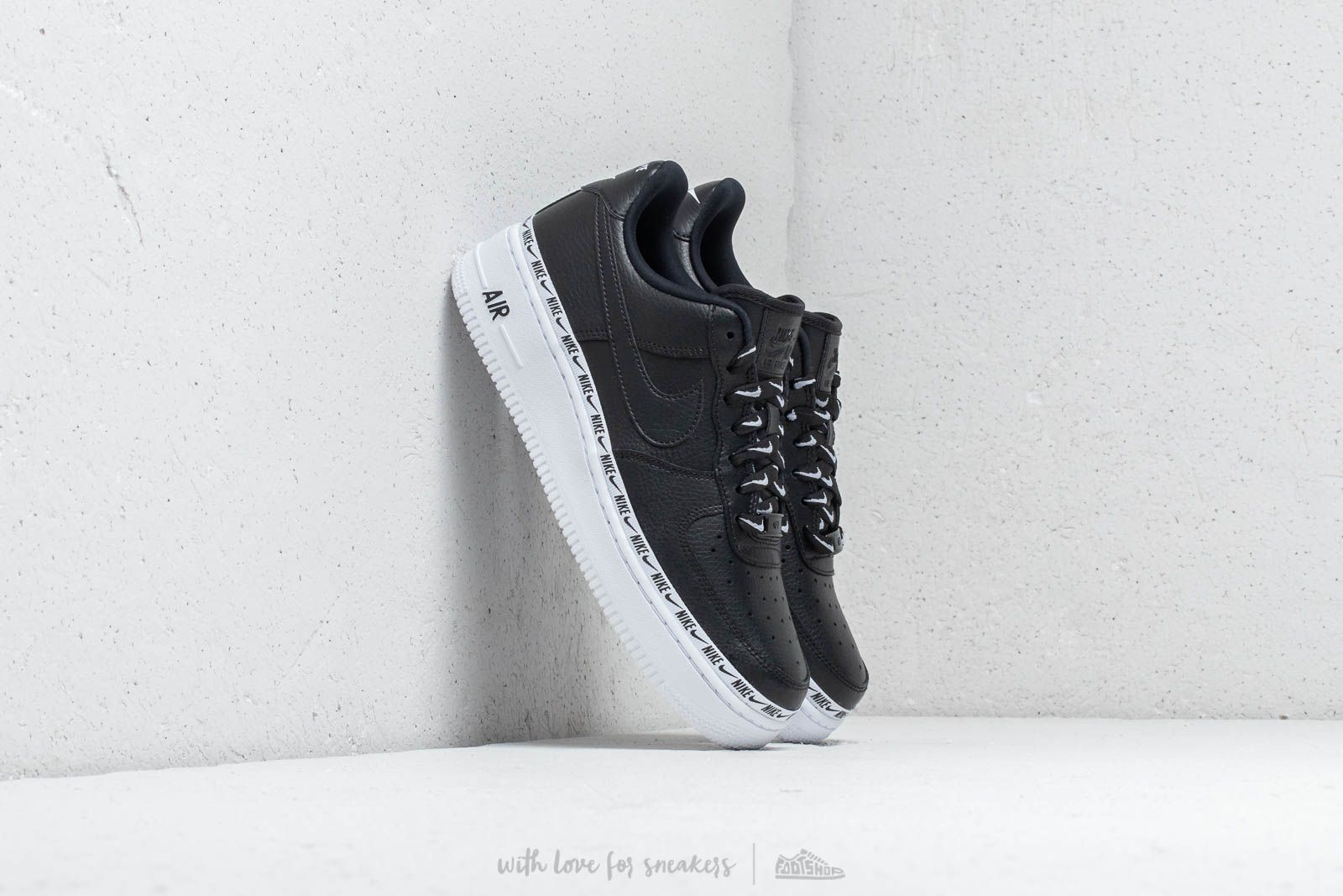 Nike W Air Force 1 '07 SE PRM Black/ Black-White