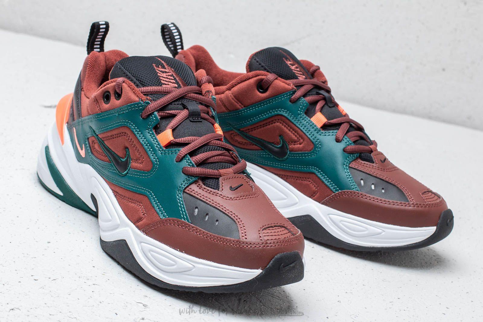 Nike M2K Tekno Pueblo Brown Black Rainforest   Footshop