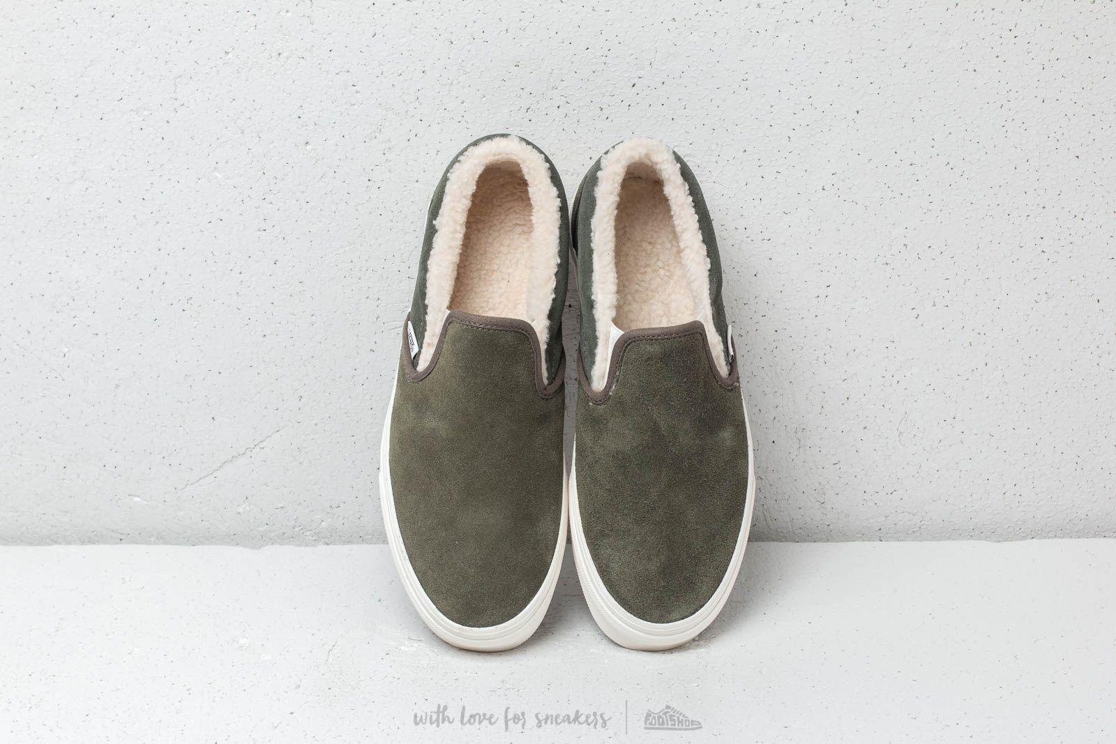 Vans Classic Slip On (SeudeSherpa) Grape Leaf | Footshop