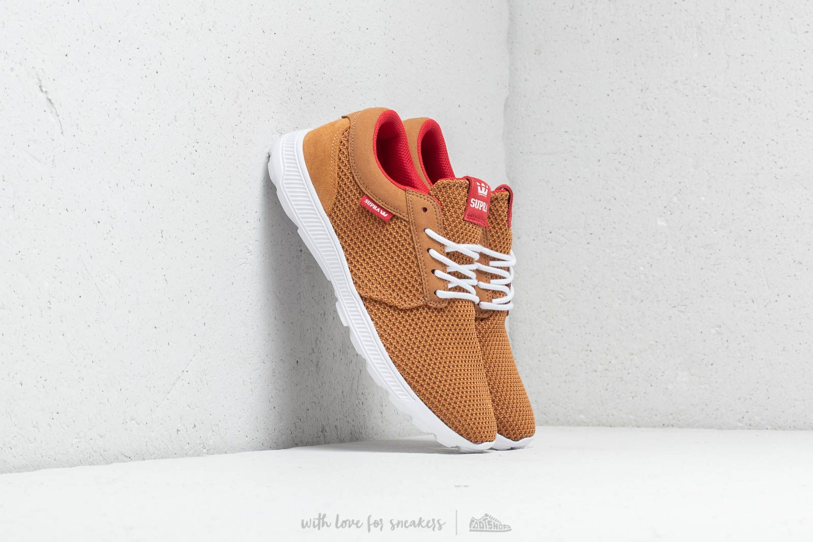 Supra Hammer Run Tan/ Risk Red-White at a great price 73 € buy at Footshop