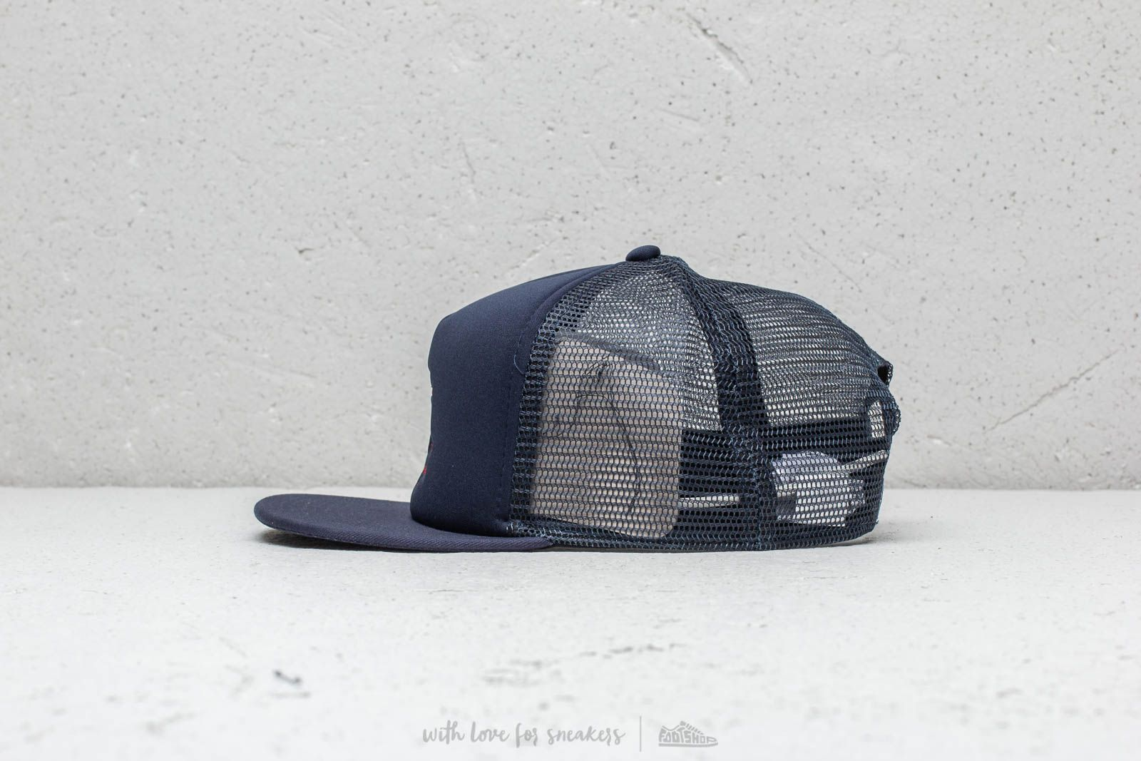 a48c776643e Vans Galer Trucker Cap Dress Blue at a great price  28 buy at Footshop
