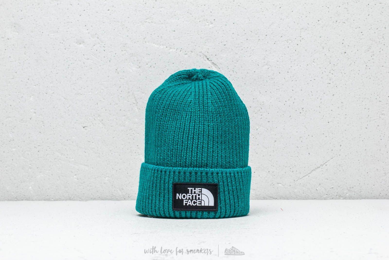 c9bf2e30 The North Face The Loho Box Cuffed Beanie Everglade | Footshop