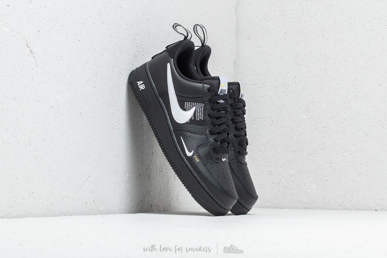 separation shoes 09302 45225 Nike Air Force 1  07 Lv8 Utility. Black  White- ...