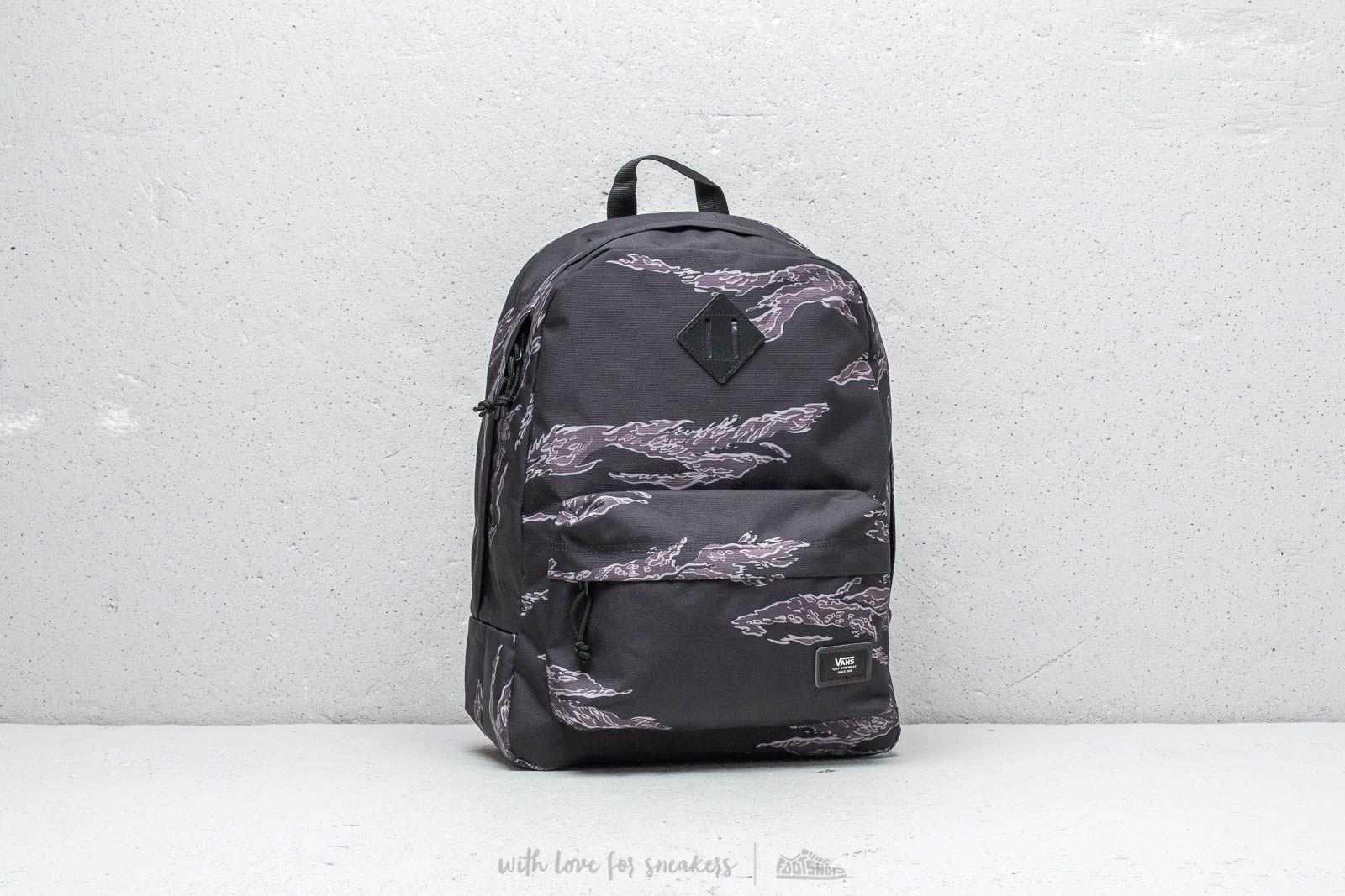3076f10ea3 Vans Old Skool Plus Backpack Tiger Camouflage