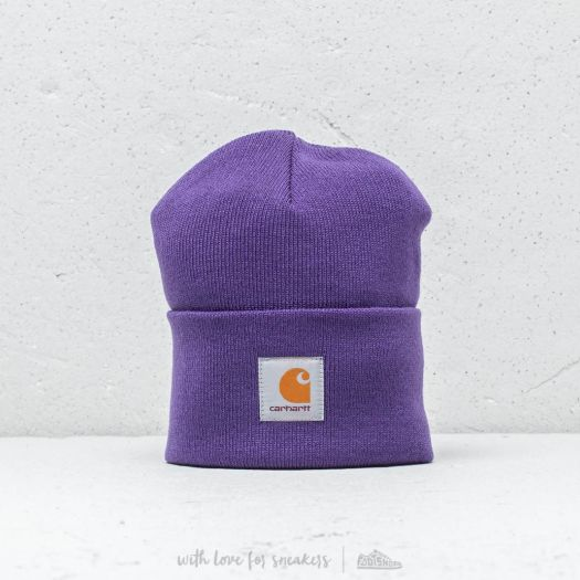 9ede23632c3 Carhartt WIP Acrylic Watch Hat Frosted Viola
