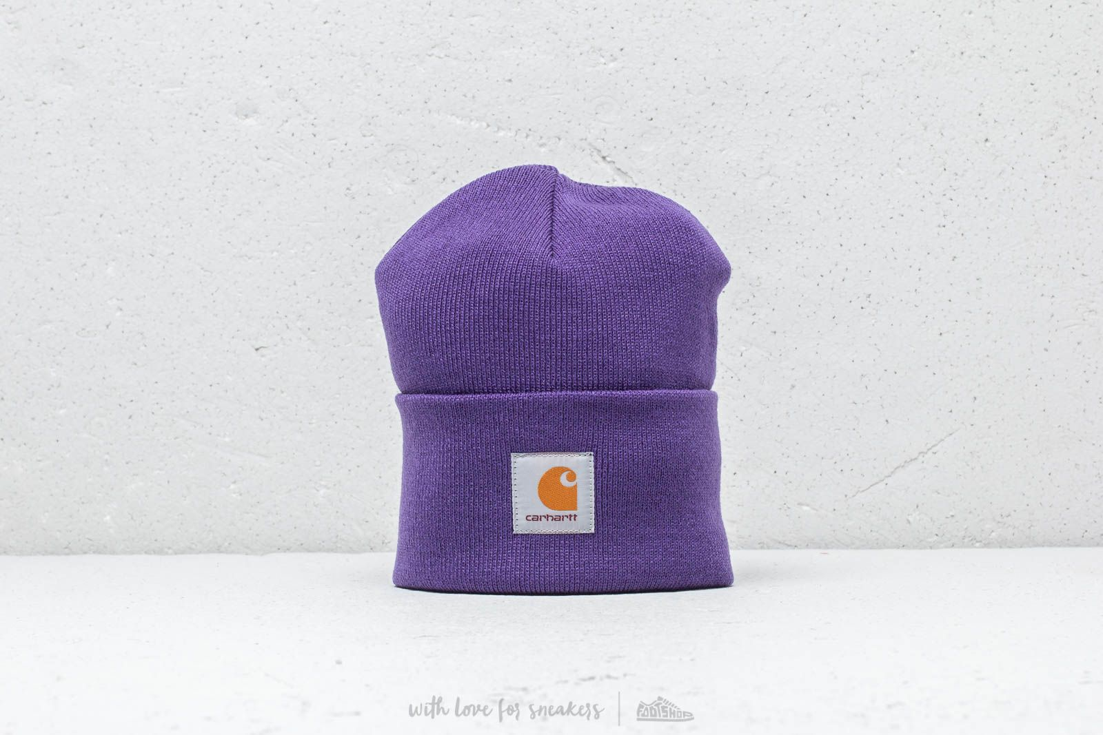 868aca0c4f8 Carhartt WIP Acrylic Watch Hat Frosted Viola at a great price 18 € buy at  Footshop