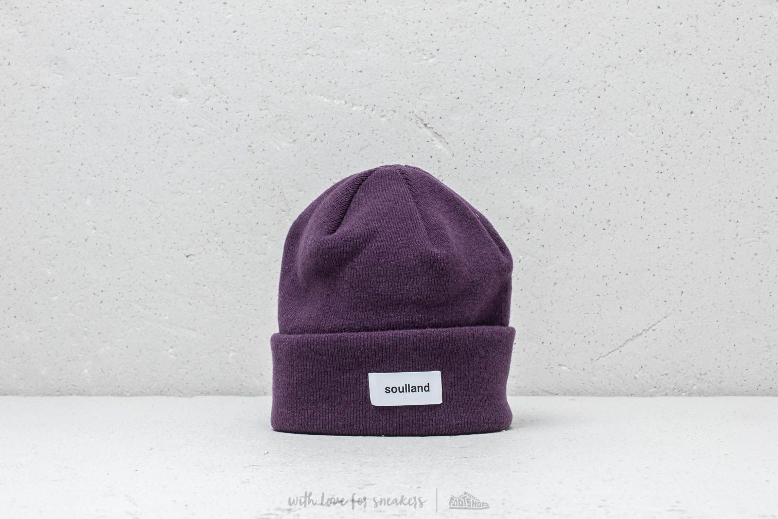 Čepice Soulland Villy Beanie Purple