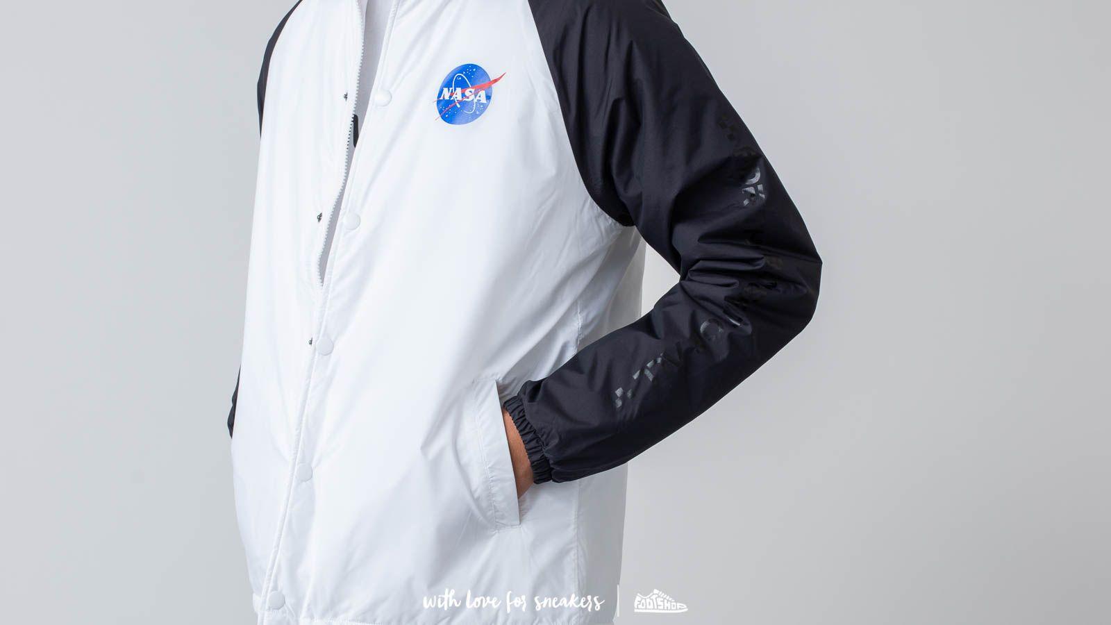 Vans Space Voyager Torr Jacket Space White Black Footshop