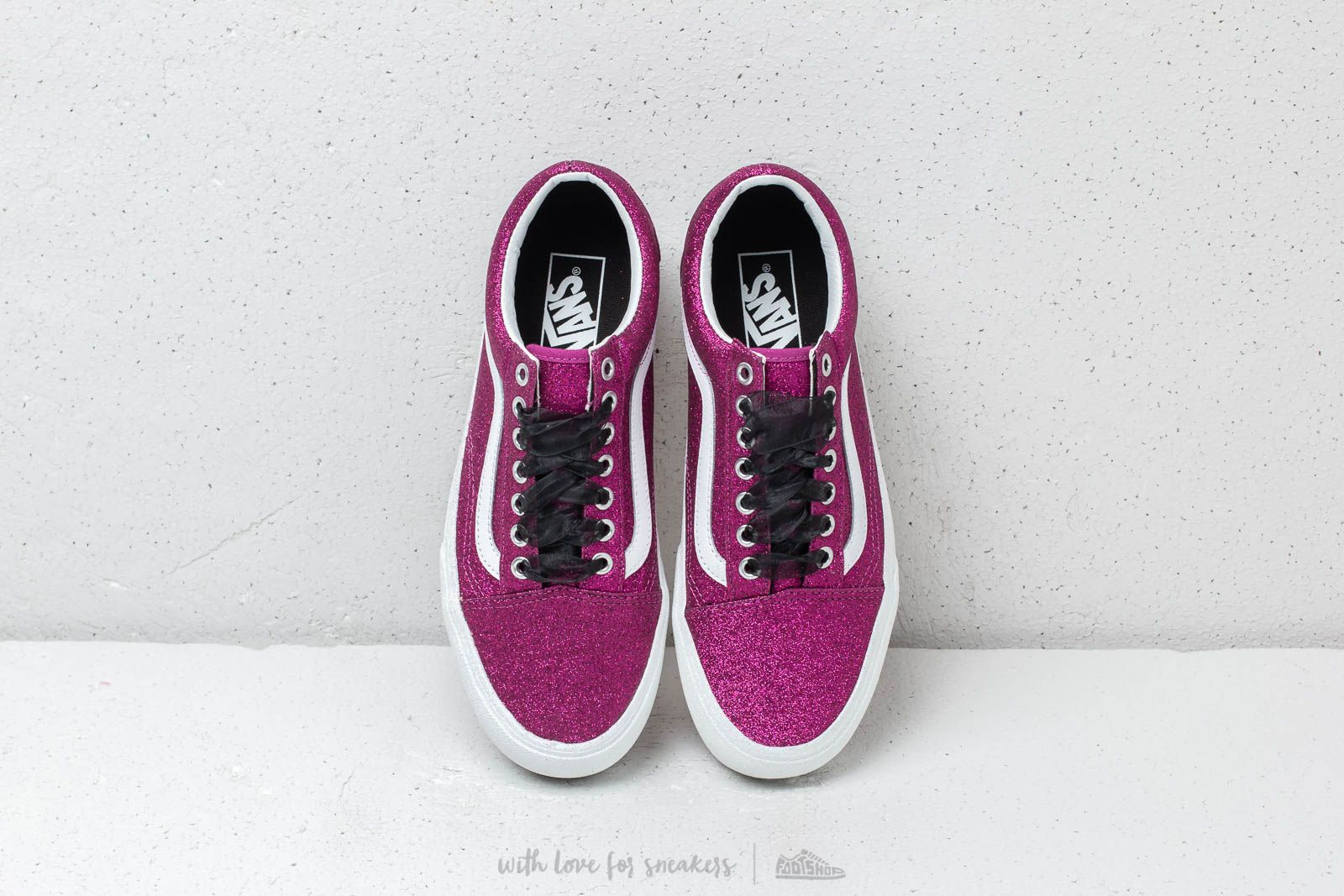 Vans Old SKool Platfor (Glitter) Wild Aster True | Footshop