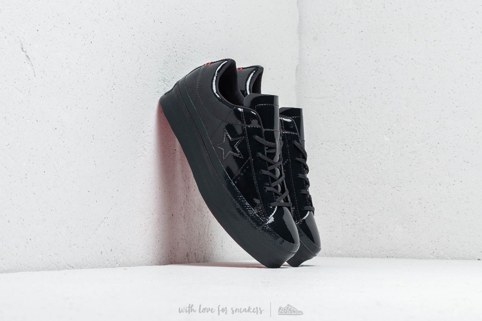 0289d3003d39 Converse One Star Platform OX Black  Black  Black at a great price 95 €
