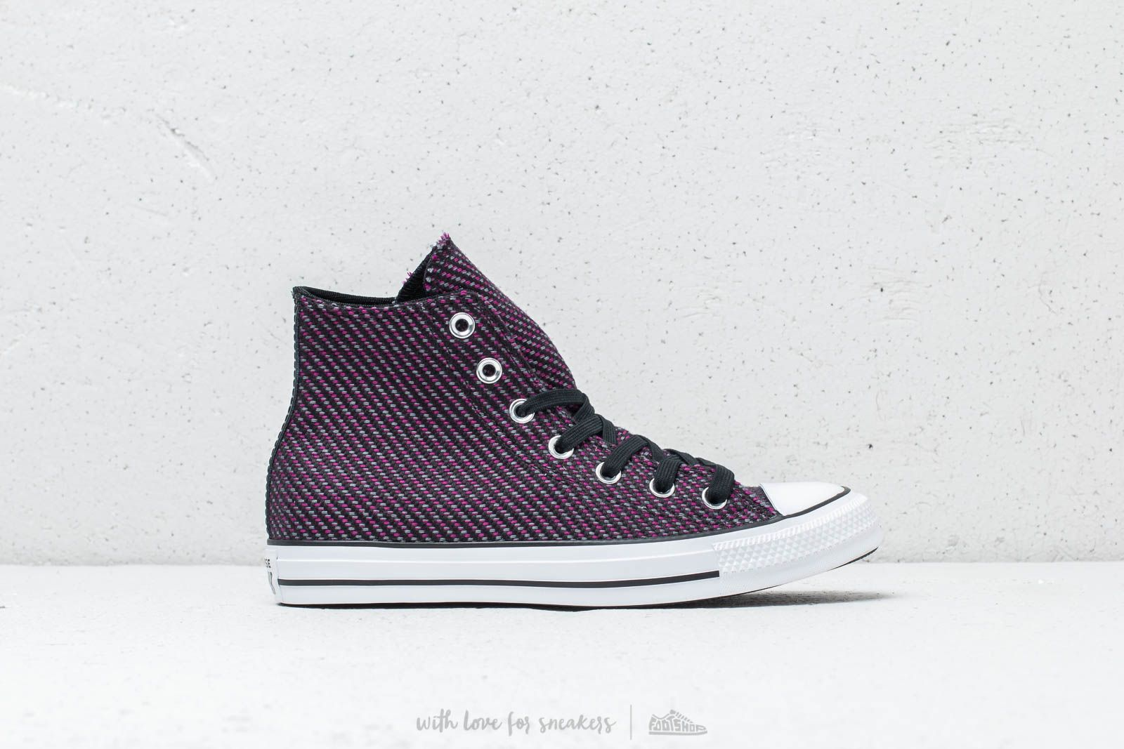 53753f3ed4f3 Converse Chuck Taylor All Star High Black  Icon Violet  Cool Grey at a great