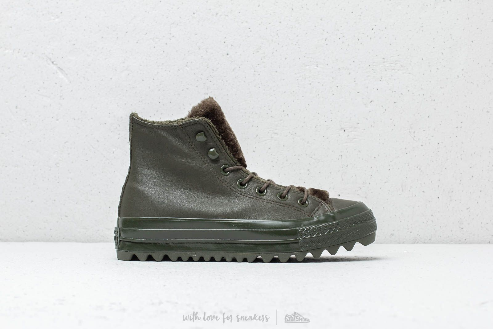 e0f9effda76c44 Converse Chuck Taylor All Stars Lift Ripple High Utility Green  Utility  Green at a great