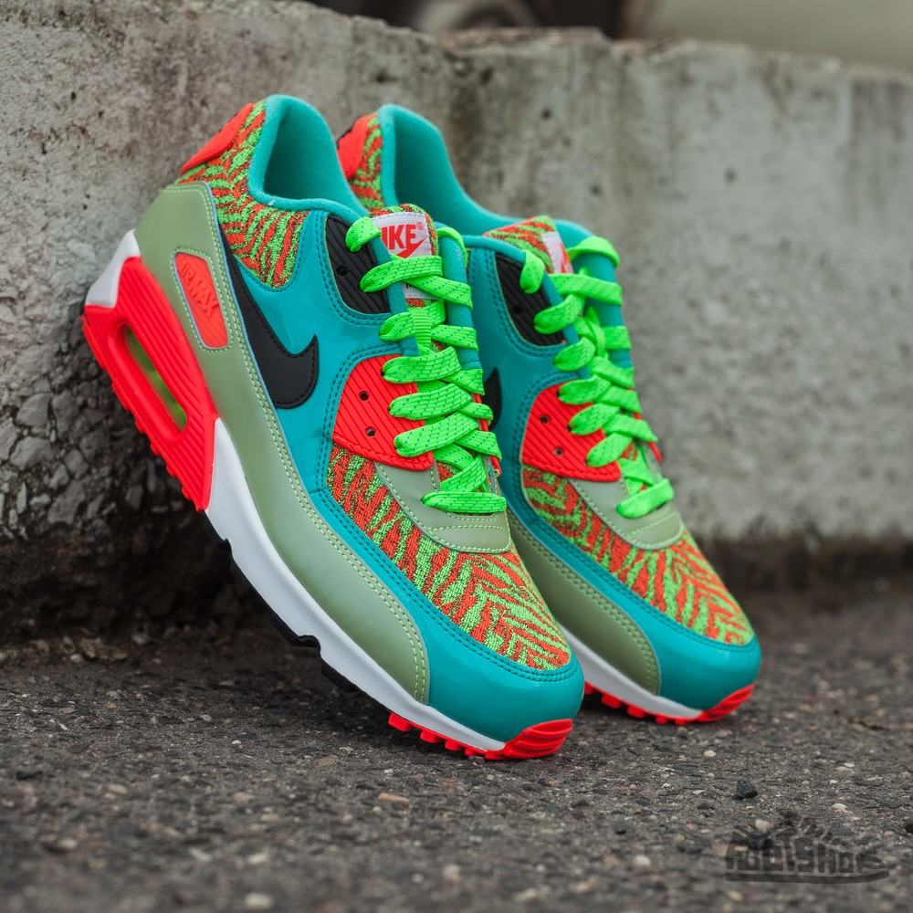 new concept cf849 b9302 Nike Air Max 90 Anniversary Flash Lime Hyper Jade Infrared
