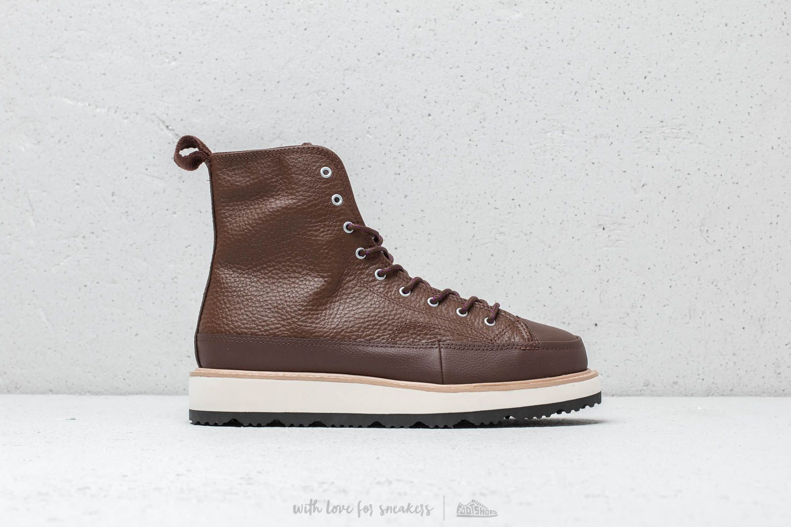 3b27d7d5efea Converse Chuck Taylor All Stars Crafted Boot High Chocolate  Light Fawn   Black at a