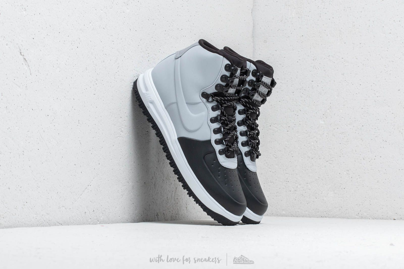 watch 10130 beb09 Nike Lunar Force 1 Duckboot  18. Black  Wolf Grey-Pure Platinum