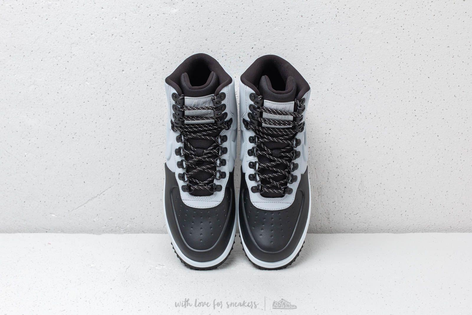 Nike Lunar Force 1 Duckboot  18 Black  Wolf Grey-Pure Platinum za skvělou d3cdd424c2