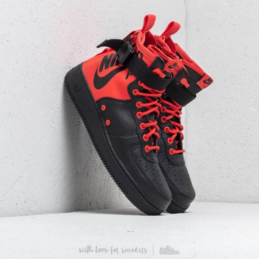the latest d6f4e cfdf0 Nike SF Air Force 1 Mid Habanero Red/ Habanero Red ...