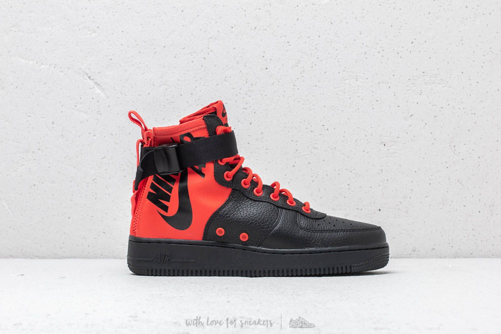 new products 77e3a 4491a Nike SF Air Force 1 Mid Habanero Red/ Habanero Red | Footshop