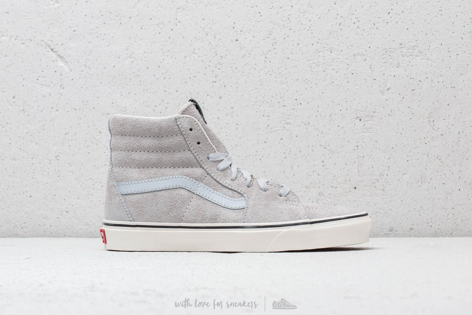 9c30b662ce5a42 Vans Sk8- Hi (Hairy Seude) Gray Dawn  Snow White at a great