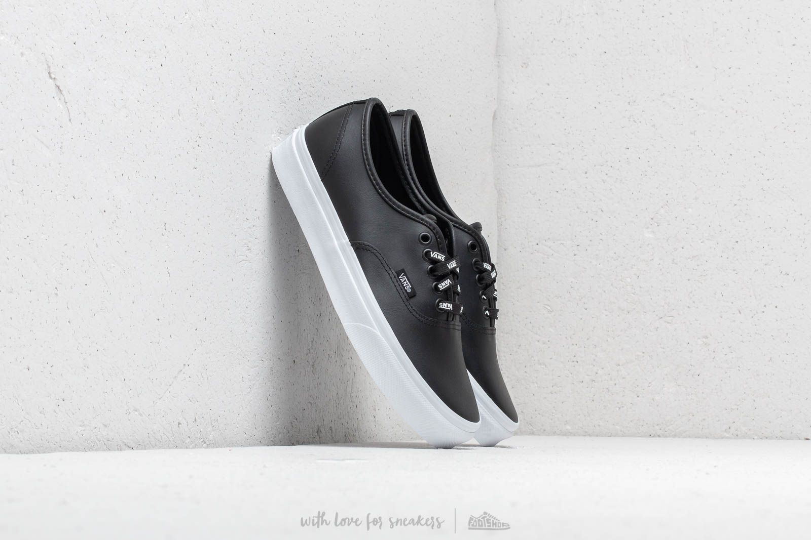 1da0996ee Vans Authentic (Otw Webbing) Black/ Leath | Footshop