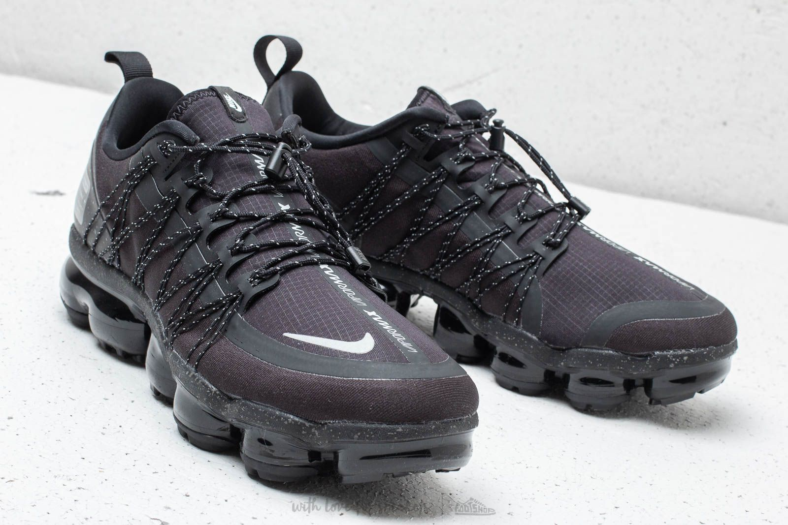check out 779ea 4bcda Nike Air Vapormax Run Utility Black/ Reflect Silver- Black ...