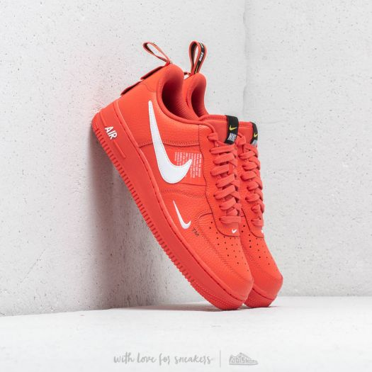 Nike Air Force 1 '07 LV 8 Utility Team Orange White Black | Footshop