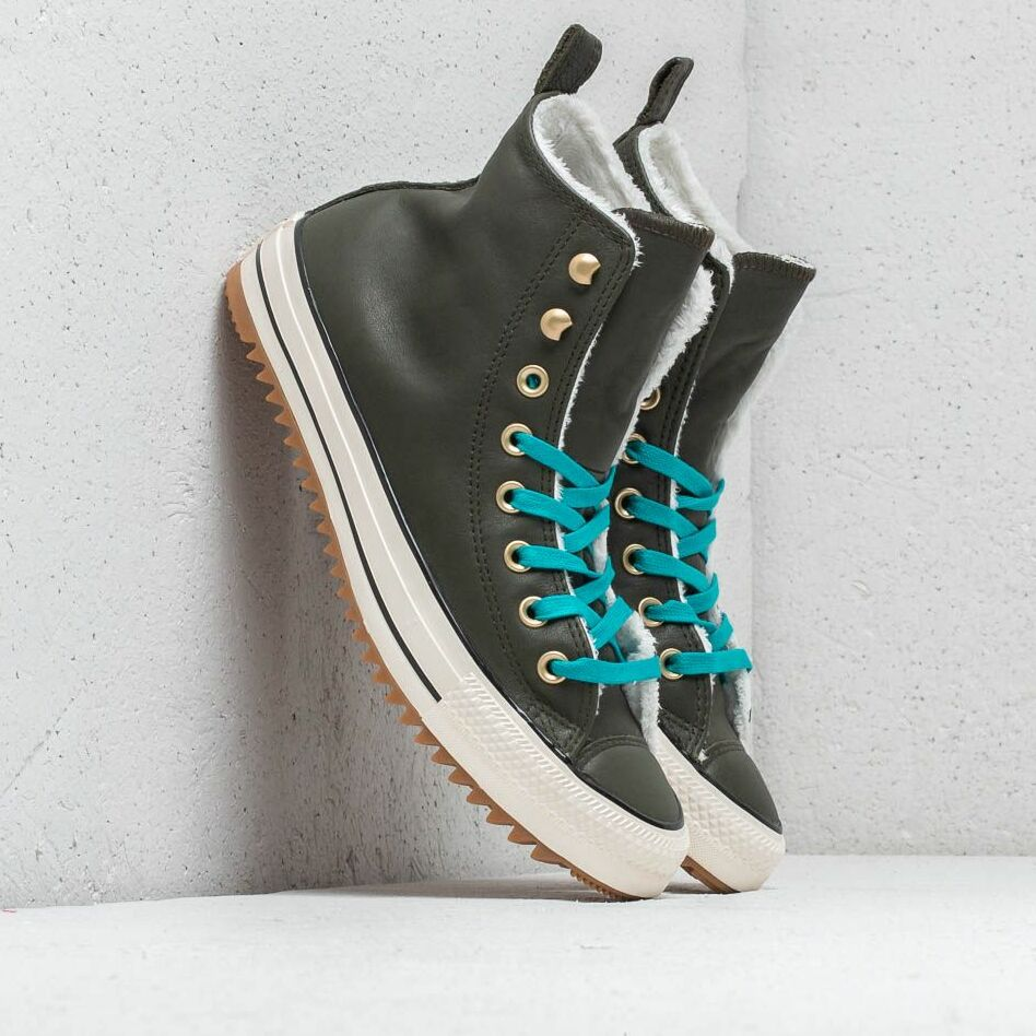Converse Chuck Taylor All Stars Hiker Boot High Utility Green/ Rapid Teal EUR 39