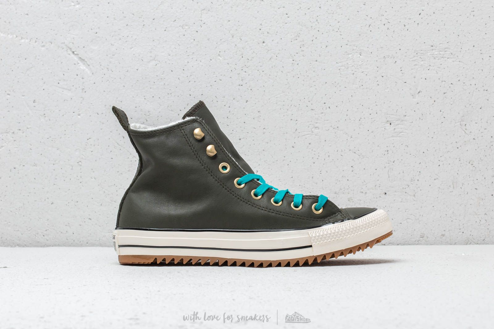5d2eda7671669 Converse Chuck Taylor All Stars Hiker Boot High Utility Green  Rapid Teal  at a great