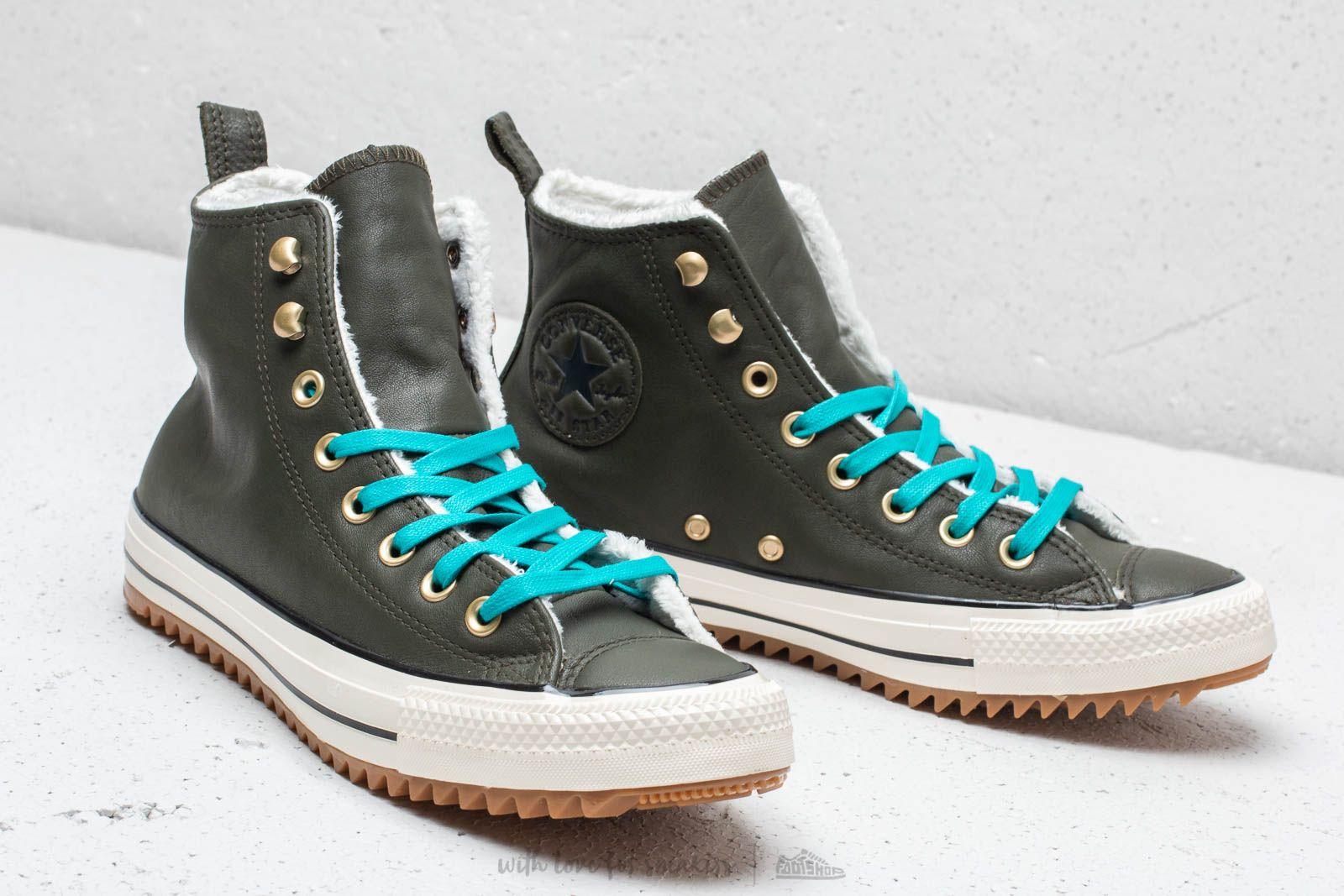 Converse Chuck Taylor All Stars Hiker Boot High Utility Green  Rapid Teal  za skvělou cenu 117ae5a162