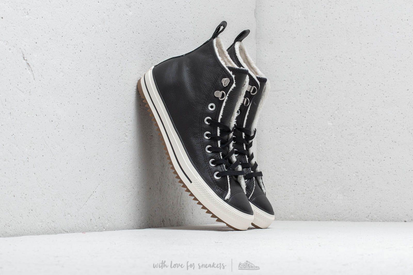 Taylor Converse All Gum Hiker Boot Stars Chuck High Black Egret f7b6gy