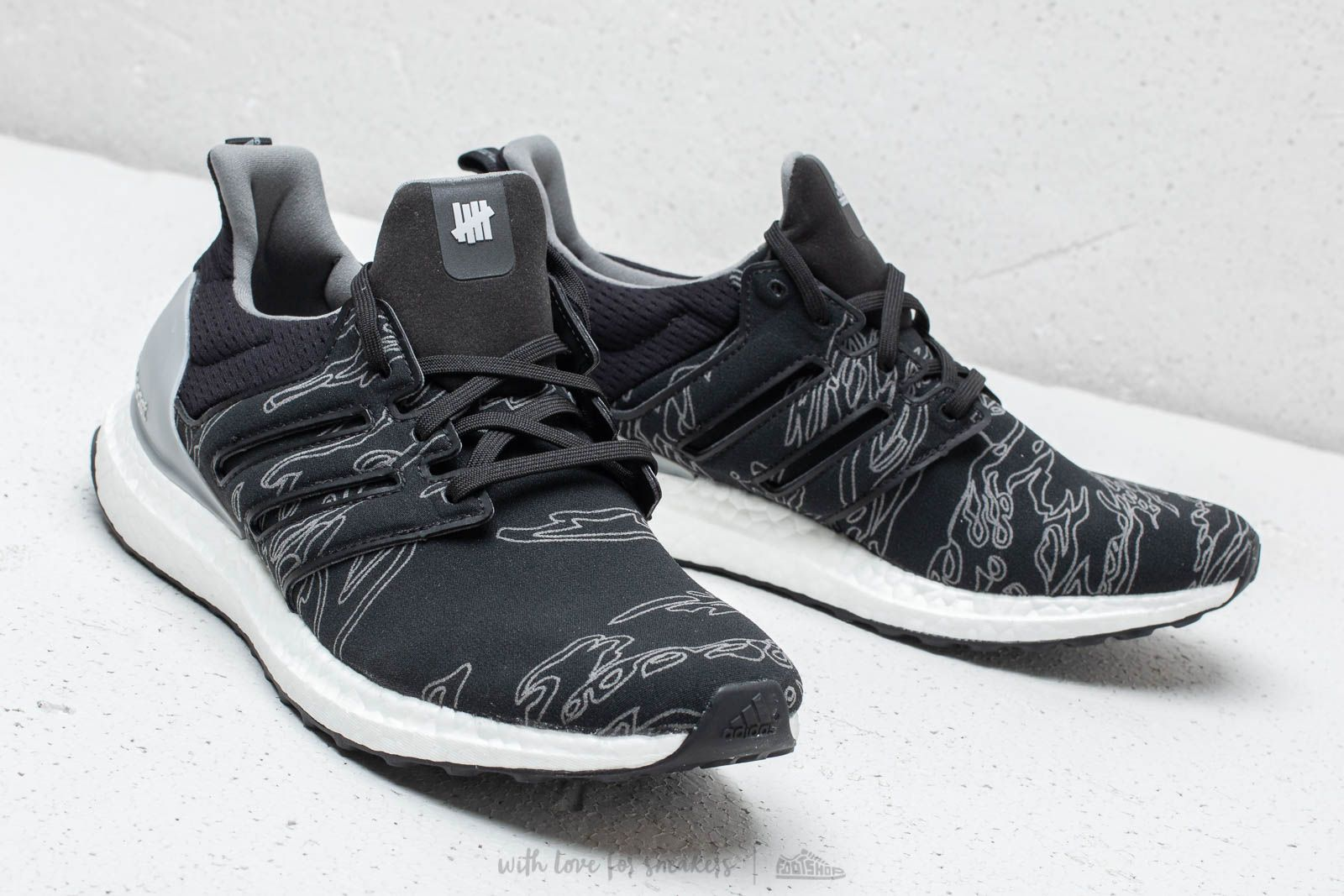 cheaper d646e 8a294 adidas x Undefeated UltraBOOST Core Black/ Core Black/ Core ...