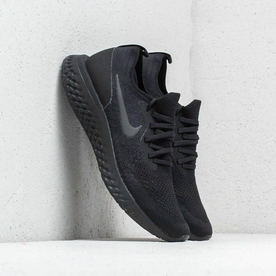 Nike Epic React Flyknit Black/ Black-Black EUR 43