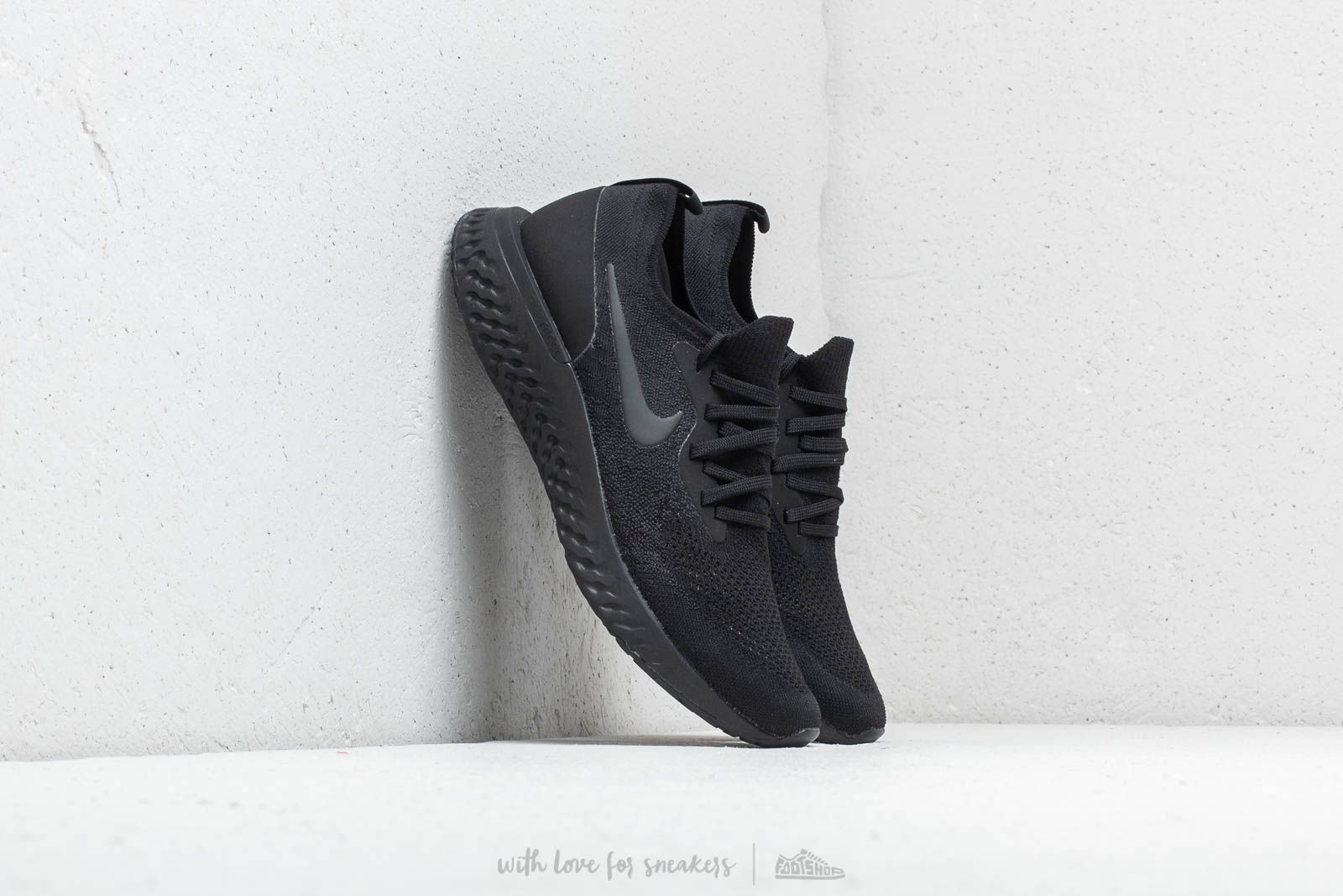Black Epic React Flyknit Nike Footshop wZtfSdq