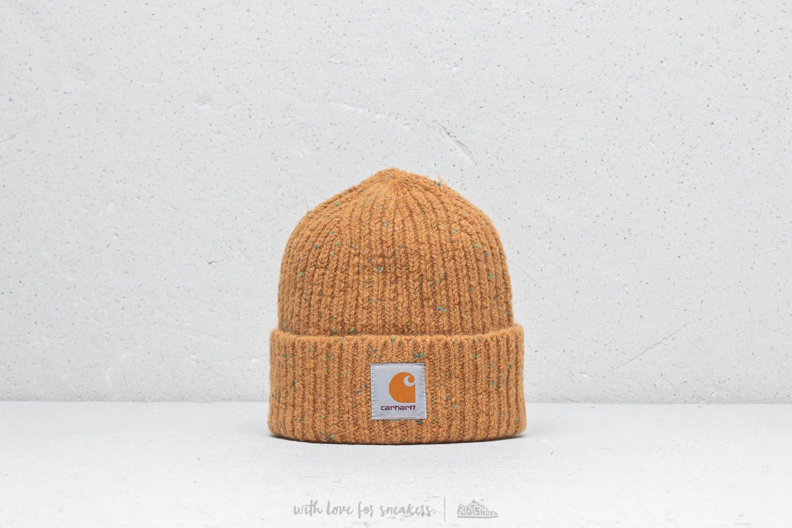 88ee95bf8 Carhartt WIP Anglistic Beanie Fawn Heather | Footshop