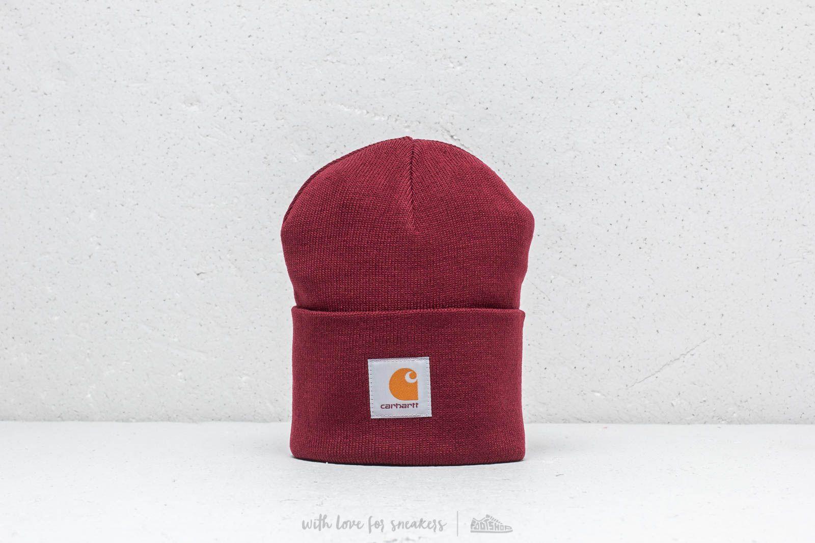 241a5970996fe Carhartt WIP Acrylic Watch Hat Mulberry