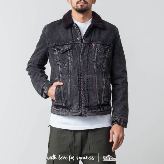 Levi's® X Justin Timberlake Sherpa Trucker Jacket Grey ...