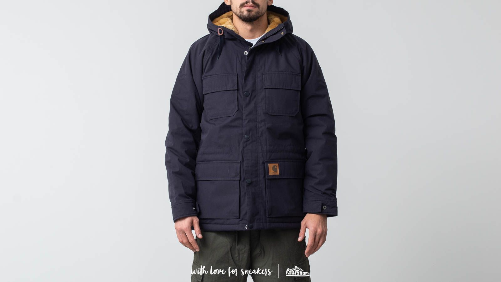 4b81c1f87 Carhartt Mentley Jacket Dark Navy | Footshop