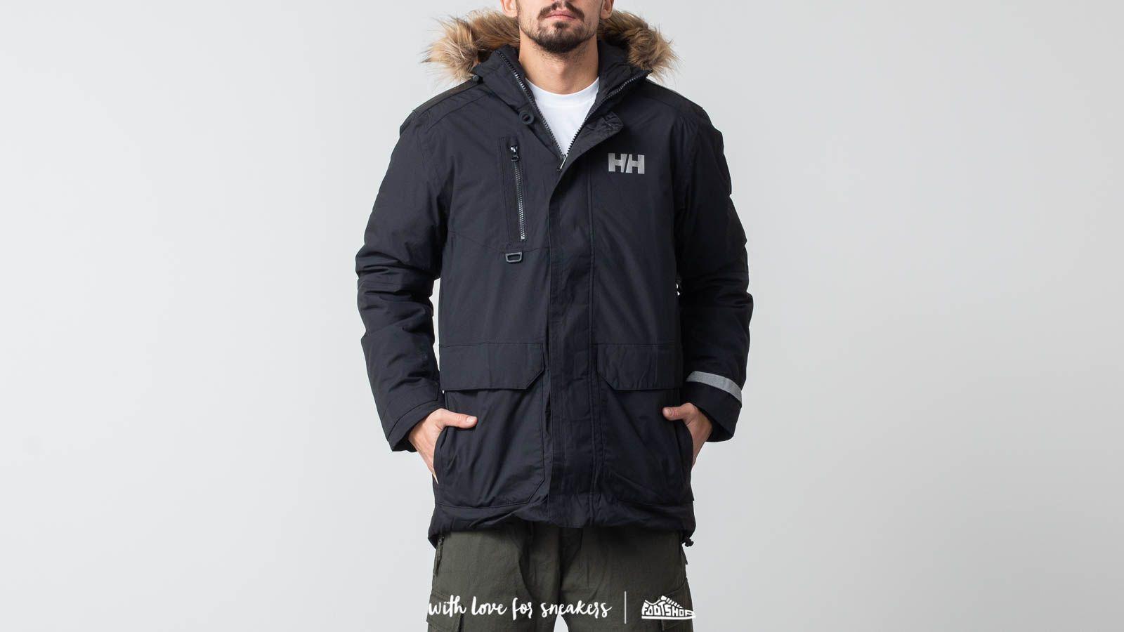 Helly Hansen Svalbard Parka Black za skvělou cenu 4 734 Kč koupíte na Footshop.cz