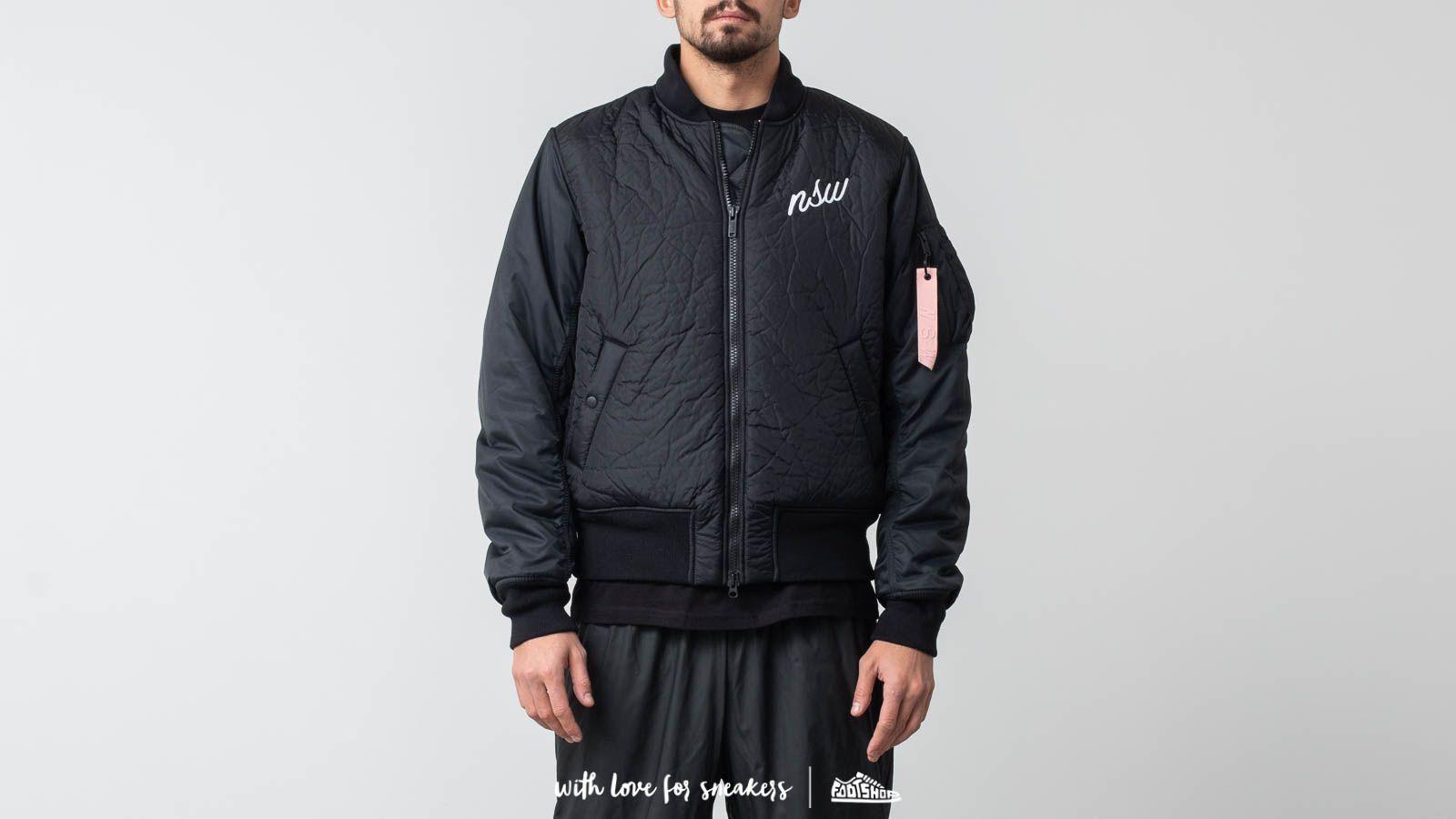 Sportswear Nike Jacket Down BlackFootshop Fill Bomber qSGjULzMVp